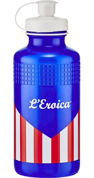 Elite Eroica USA Classic Vannflaske 500ml rød/Blå